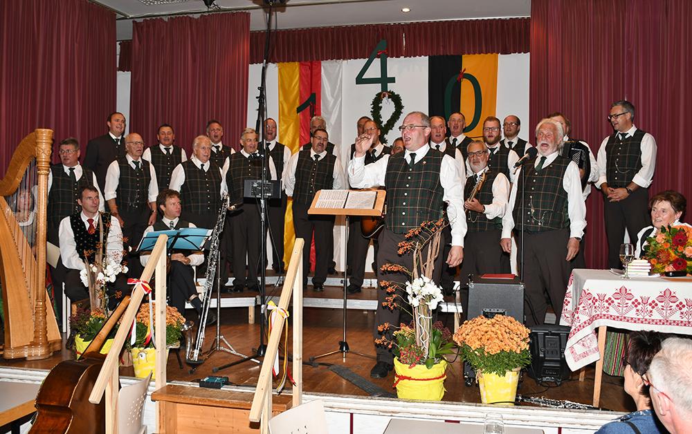 MGV Bad St. Leonhard Jubiläum